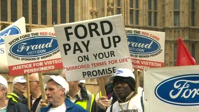 Ford workers at House of Commons