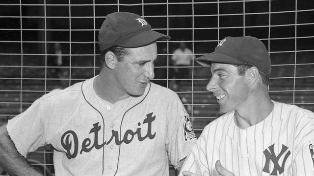 Hank Greenberg and Joe Dimaggio