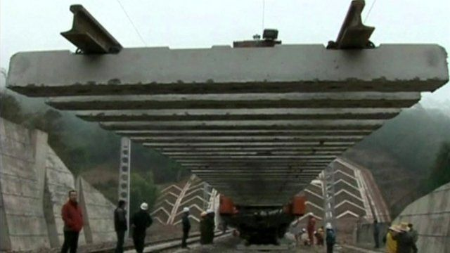 Chinese railway construction