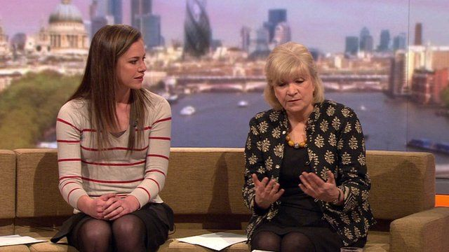 Isabel Hardman and Polly Toynbee