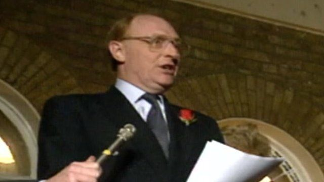 Archive image of Neil Kinnock