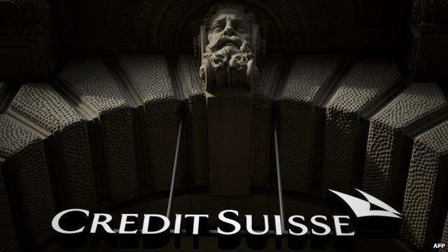 Credit Suisse sign