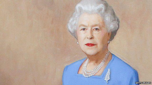 Portrait of the Queen