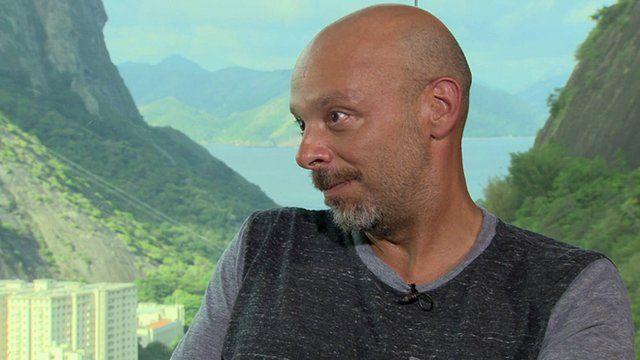 Film director Jose Padilha