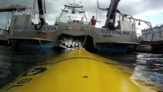 Bluefin submarine