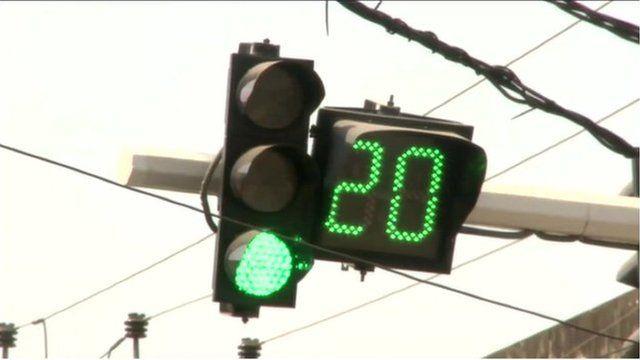 Sri Lanka traffic light