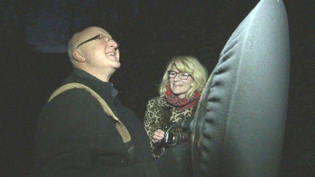 Chris Watson and Joanne Milne