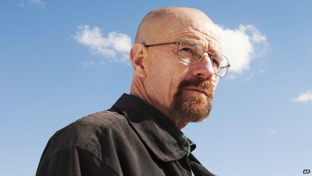 Bryan Cranston plays Walter White in Breaking Bad