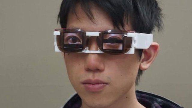 AgencyGlass eyewear mimics eye gestures