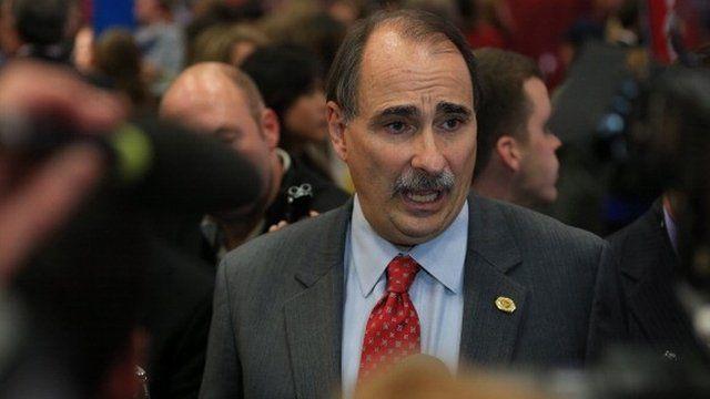 David Axelrod in Denver, Colorado, October 2012