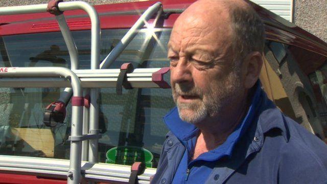 John Grisdale, chair of Llanberis Mountain Rescue Team