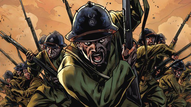 Harlem Hellfighters graphic novel cover