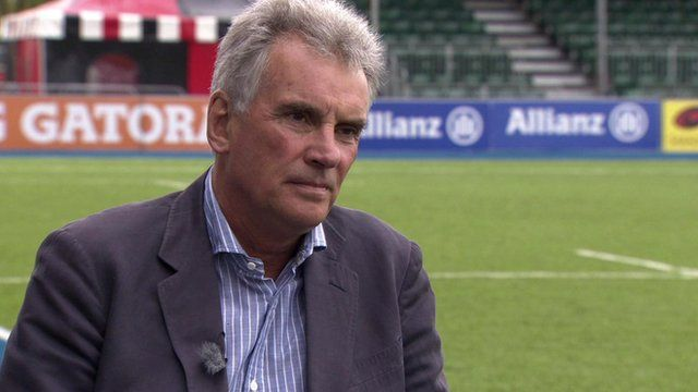 Chairman of Saracens rugby club in London, Nigel Wray