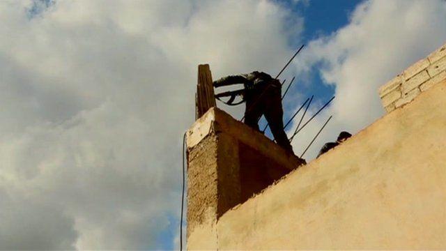 Gunman in Syria