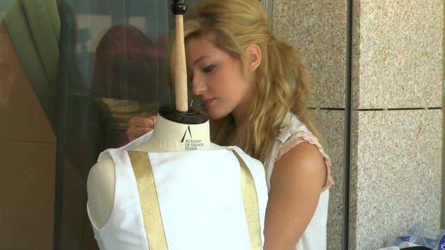 Fashion designer Hania Chamas