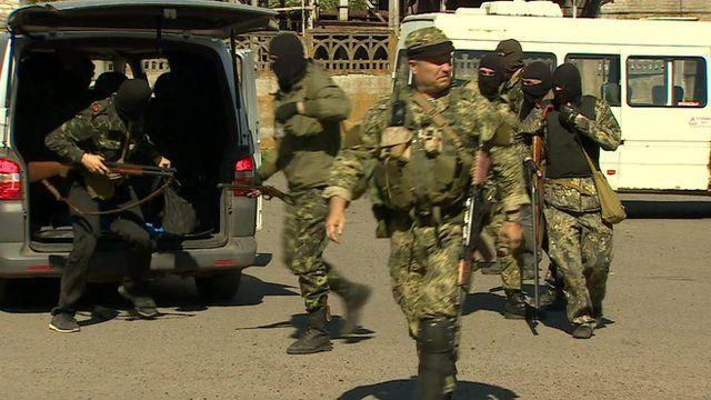 Pro-Russian militia