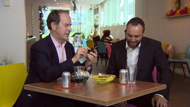 Rory Cellan-Jones gets to grips with the new payment app