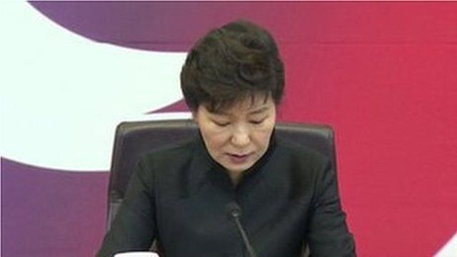 South Korean President, Park Geun-hye