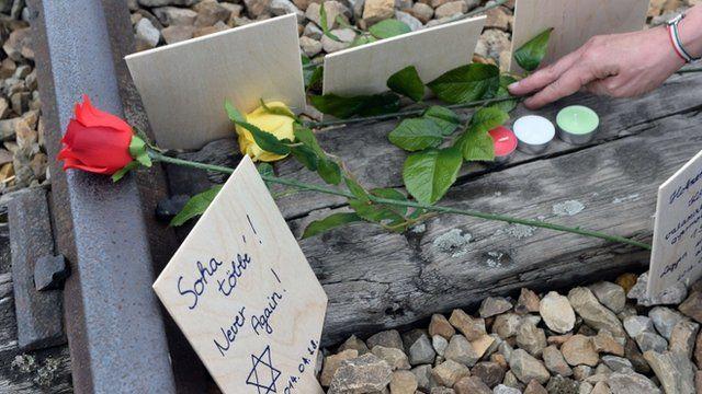 Holocaust victim's grave