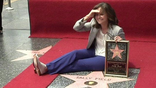 Sally Field has received a Hollywood Star on the Walk of Fame.