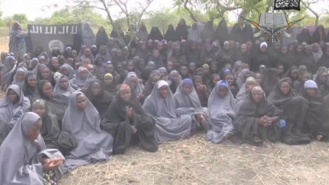 Abducted Nigerian schoolgirls