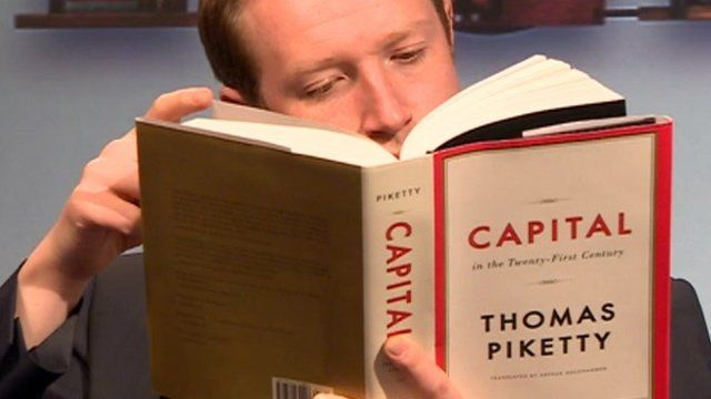 Adam Fleming reading Capital