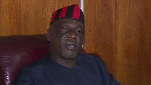 Nigerian Interior Minister Abba Moro