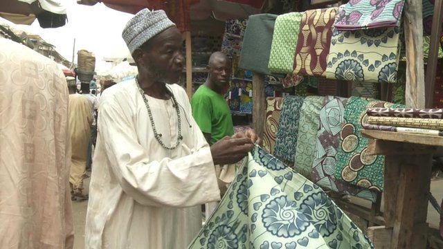 Kano's textile market