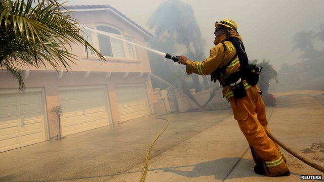Firefighter in Carlsbad