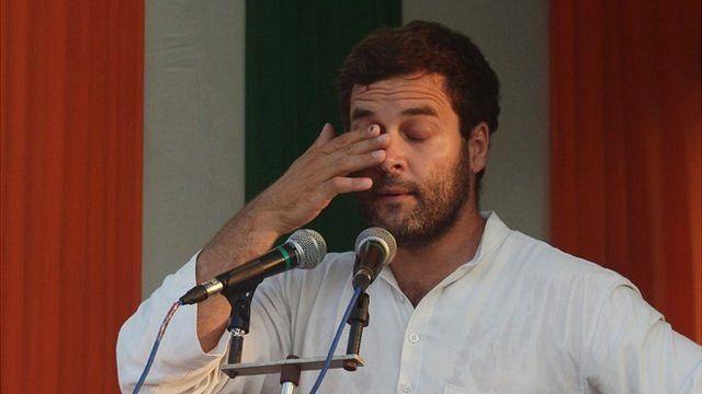 Indian Congress Party Vice President Rahul Gandhi
