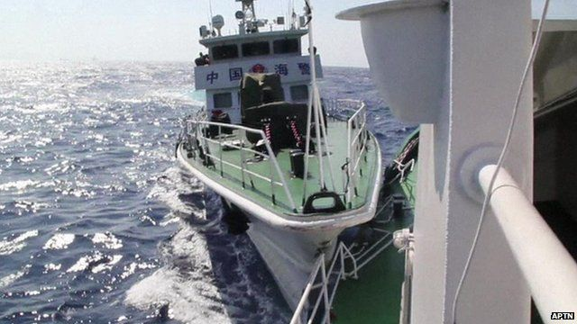 Two ships collide in South China Sea