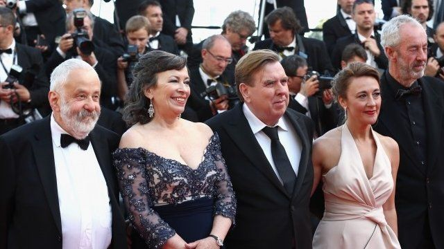 Mike Leigh, Marion Bailey, Timothy Spall, Dorothy Atkinson and Dick Pope