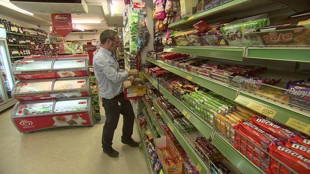 Shopkeeper Eamon McCluskey