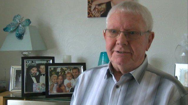 Ryan Giggs' grandfather Dennis