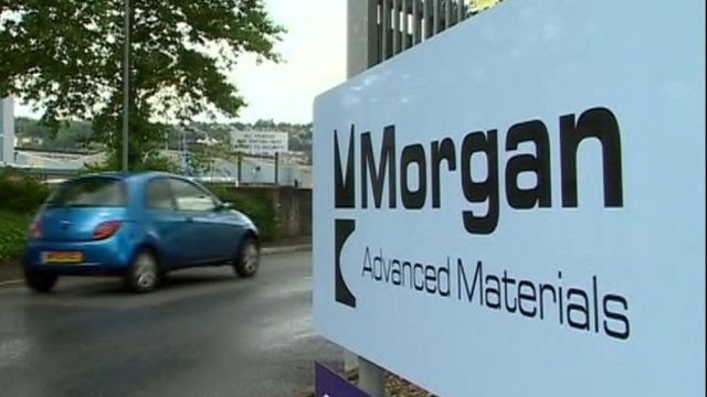 Morgan Advanced Materials sign