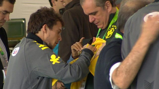 Brazil player
