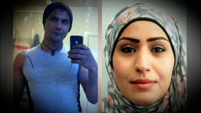 Ahmed Al-Khatib and Rania Alayed