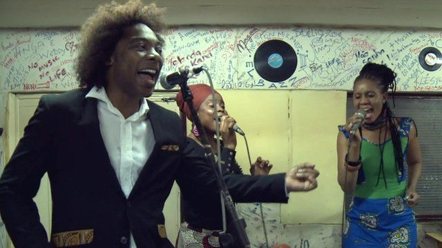 Musician Stewart Sukuma