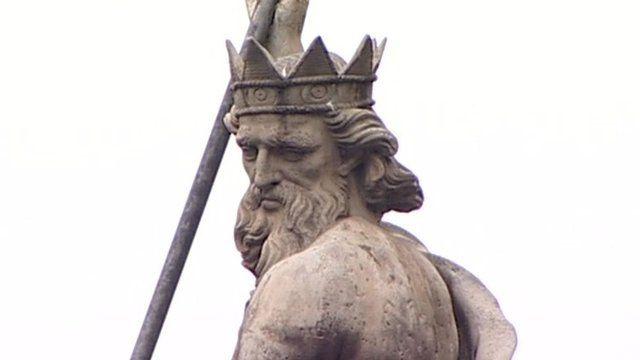 Statue in Durham