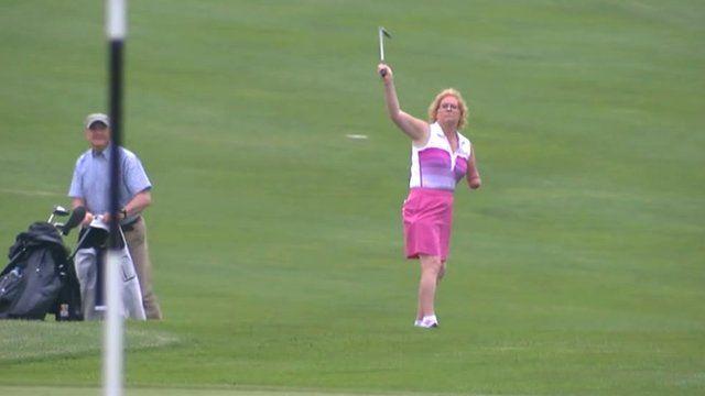 Mary Fahy, golfer
