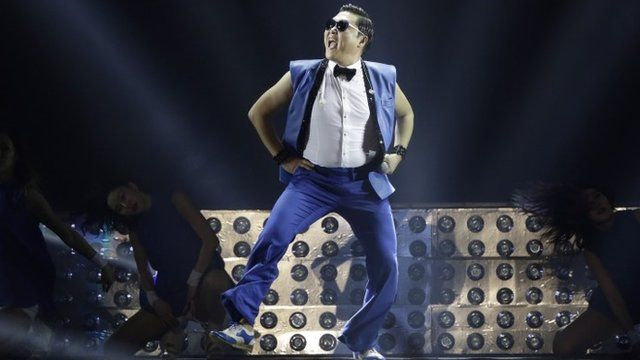 "South Korean rapper PSY performs during his concert ""All Night Stand"" in Seoul, South Korea"
