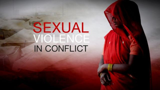 Sexual violence in conflict graphic