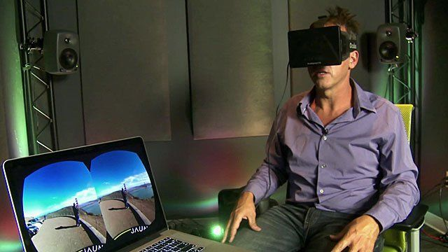 Richard Taylor puts virtual reality to the test
