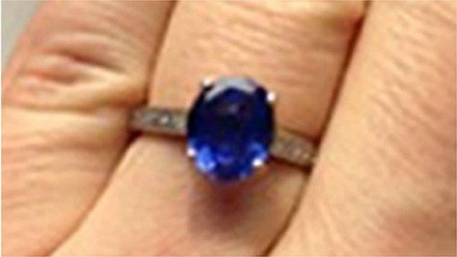 Stolen engagement ring