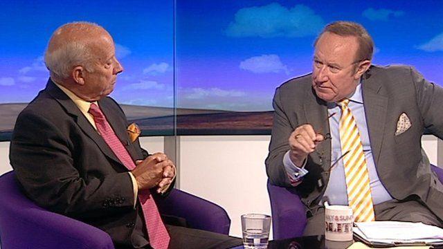 Godfrey Bloom and Andrew Neil