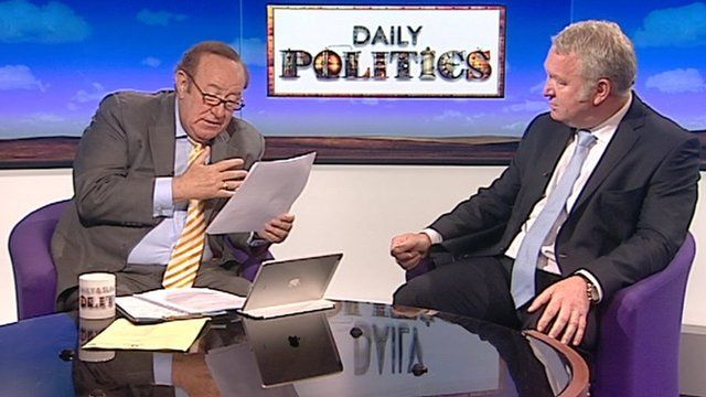 Andrew Neil and Mike Penning