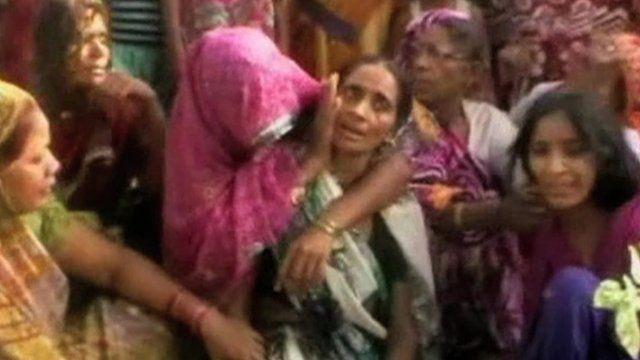 Women in village where woman was found hanged