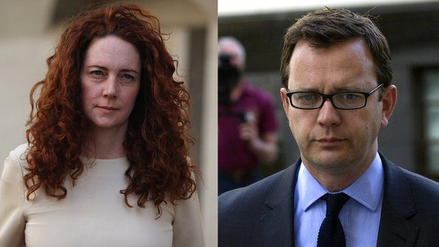Rebekah Brooks and Andy Coulson