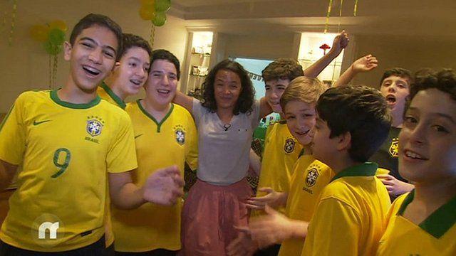 Leah in Brazil