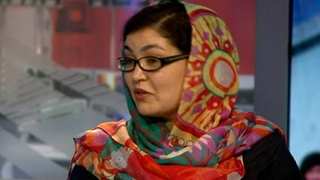 Hossai Wardak, deputy executive director of Equality for Peace and Democracy